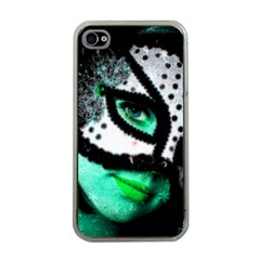 Masked Apple Iphone 4 Case (clear)