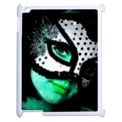 MASKED Apple iPad 2 Case (White)
