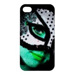 Masked Apple Iphone 4/4s Premium Hardshell Case