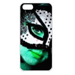 MASKED Apple iPhone 5 Seamless Case (White)