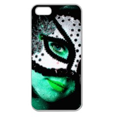 MASKED Apple Seamless iPhone 5 Case (Clear)