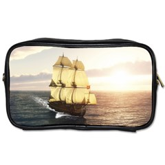French Warship Travel Toiletry Bag (two Sides)