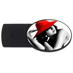 Red Hat 4gb Usb Flash Drive (oval)