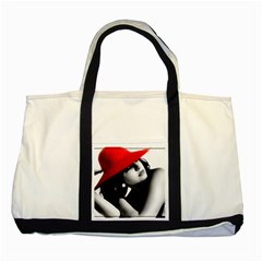 RED HAT Two Toned Tote Bag