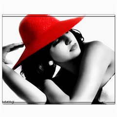 Red Hat Canvas 8  X 10  (unframed)