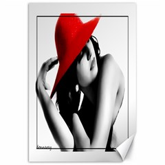 Red Hat Canvas 20  X 30  (unframed)