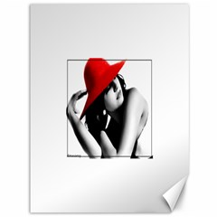 RED HAT Canvas 36  x 48  (Unframed)