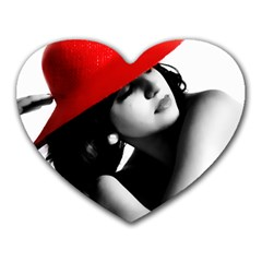 RED HAT Mouse Pad (Heart)