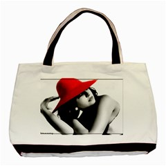 RED HAT Twin-sided Black Tote Bag