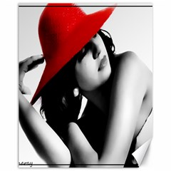 Red Hat Canvas 11  X 14  9 (unframed)