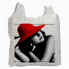 Red Hat Recycle Bag (one Side)