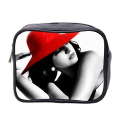 Red Hat Mini Travel Toiletry Bag (two Sides)
