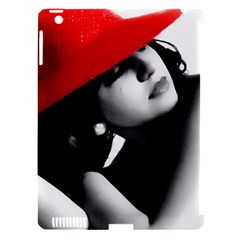 RED HAT Apple iPad 3/4 Hardshell Case (Compatible with Smart Cover)