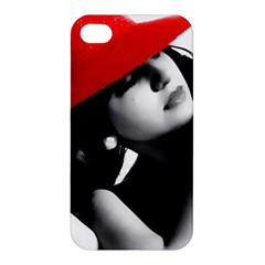 Red Hat Apple Iphone 4/4s Premium Hardshell Case