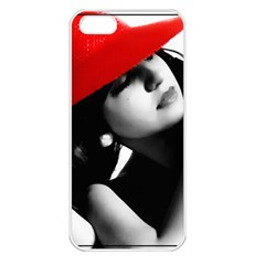 RED HAT Apple iPhone 5 Seamless Case (White)