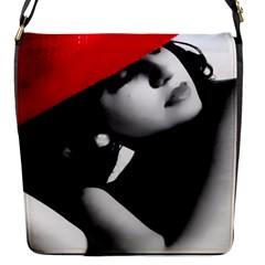 RED HAT Flap closure messenger bag (Small)