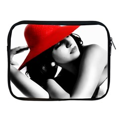 Red Hat Apple Ipad 2/3/4 Zipper Case
