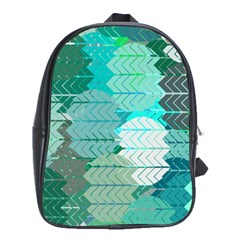 Chevrons School Bag (Large)