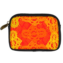 Asym Digital Camera Leather Case
