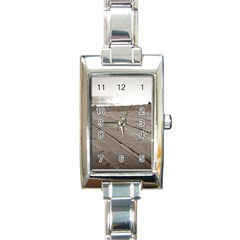 Laguna Beach Walk Rectangular Italian Charm Watch