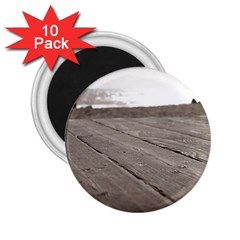 Laguna Beach Walk 2.25  Button Magnet (10 pack)