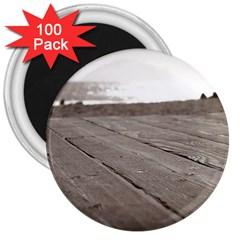 Laguna Beach Walk 3  Button Magnet (100 pack)