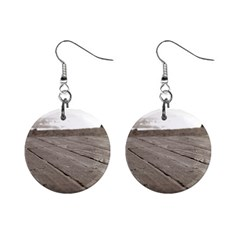 Laguna Beach Walk Mini Button Earrings