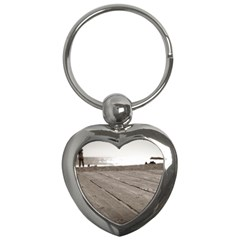 Laguna Beach Walk Key Chain (Heart)