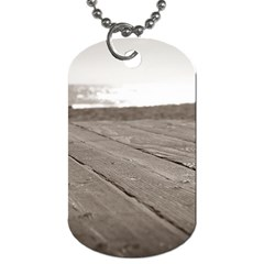 Laguna Beach Walk Dog Tag (two Sided)