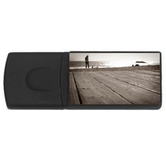 Laguna Beach Walk 1GB USB Flash Drive (Rectangle)