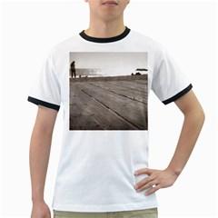 Laguna Beach Walk Mens' Ringer T-shirt