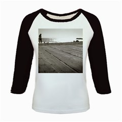 Laguna Beach Walk Women s Long Cap Sleeve T-Shirt