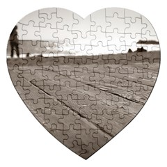 Laguna Beach Walk Jigsaw Puzzle (Heart)
