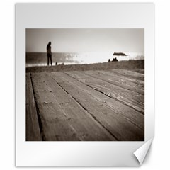Laguna Beach Walk Canvas 20  x 24  (Unframed)