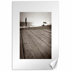 Laguna Beach Walk Canvas 20  x 30  (Unframed)