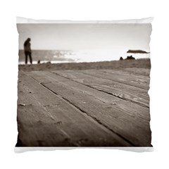 Laguna Beach Walk Cushion Case (two Sides)