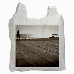 Laguna Beach Walk Recycle Bag (Two Sides)