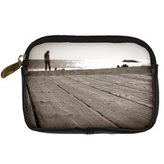 Laguna Beach Walk Digital Camera Leather Case