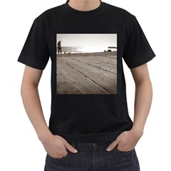 Laguna Beach Walk Mens' T-shirt (Black)