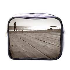 Laguna Beach Walk Mini Travel Toiletry Bag (one Side)