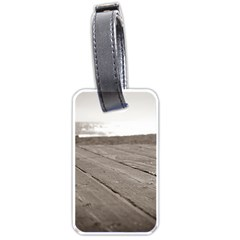 Laguna Beach Walk Luggage Tag (two Sides)