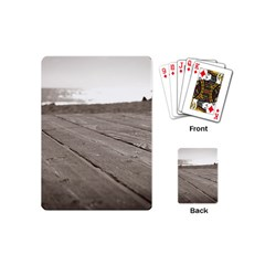 Laguna Beach Walk Playing Cards (mini)