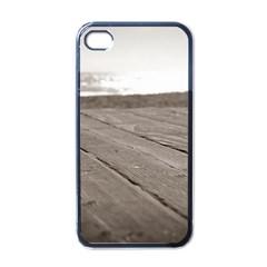 Laguna Beach Walk Apple iPhone 4 Case (Black)