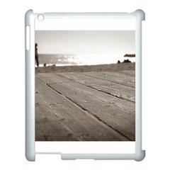 Laguna Beach Walk Apple iPad 3/4 Case (White)