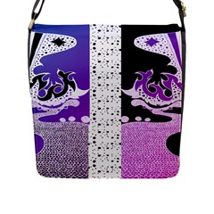 Pheonix Flap Closure Messenger Bag (Large)