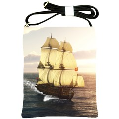 French Warship Shoulder Sling Bag