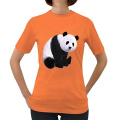 Panda Bear Womens' T Shirt (colored)