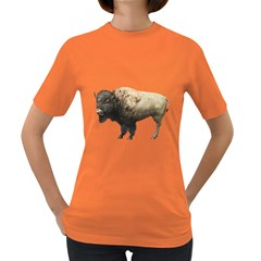 Bison Womens' T-shirt (Colored)