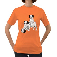 Dalmatian Puppies 1 Womens' T Shirt (colored)