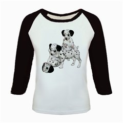Dalmatian puppies 1 Women s Long Cap Sleeve T-Shirt